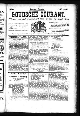 Goudsche Courant 1890-11-01