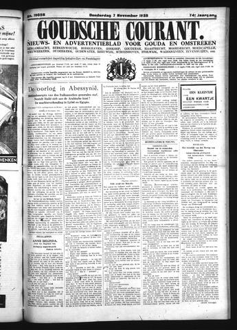 Goudsche Courant 1935-11-07