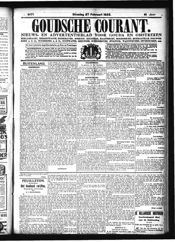 Goudsche Courant 1923-02-27