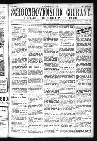 Schoonhovensche Courant 1924-05-07