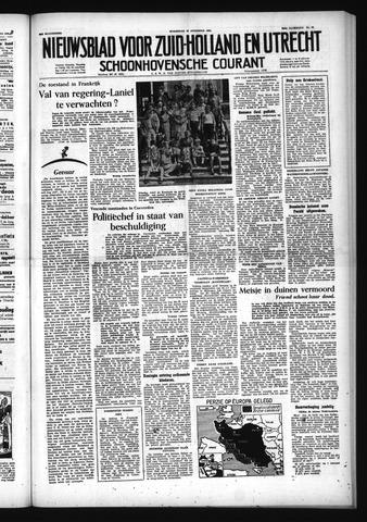 Schoonhovensche Courant 1953-08-19