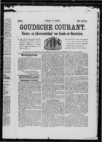 Goudsche Courant 1871-01-27