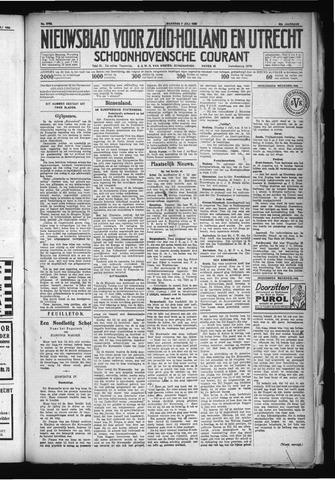 Schoonhovensche Courant 1930-07-07