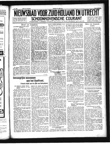 Schoonhovensche Courant 1941-06-27