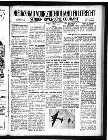 Schoonhovensche Courant 1950-09-11