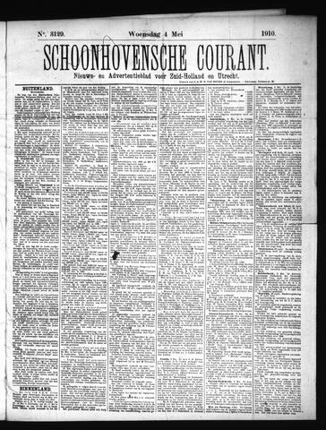 Schoonhovensche Courant 1910-05-04