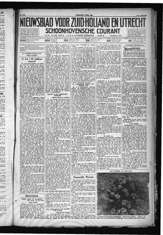 Schoonhovensche Courant 1930-04-02