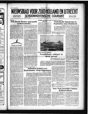 Schoonhovensche Courant 1952-01-18