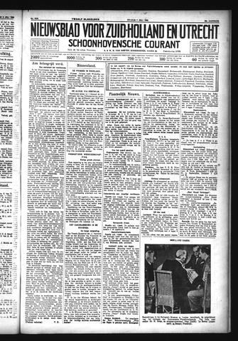 Schoonhovensche Courant 1933-07-07