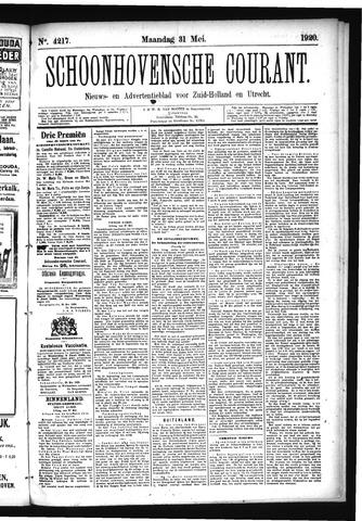 Schoonhovensche Courant 1920-05-31