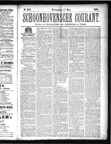 Schoonhovensche Courant 1893-05-17