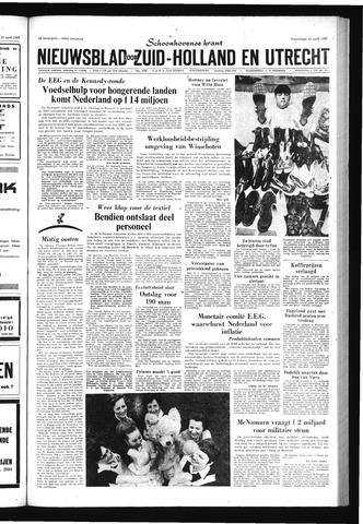 Schoonhovensche Courant 1967-04-12