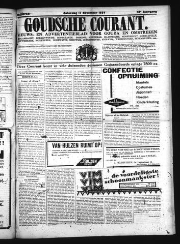 Goudsche Courant 1934-11-17