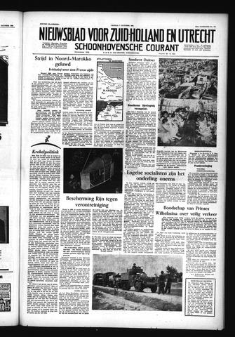 Schoonhovensche Courant 1955-10-07