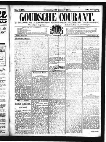 Goudsche Courant 1911-01-25