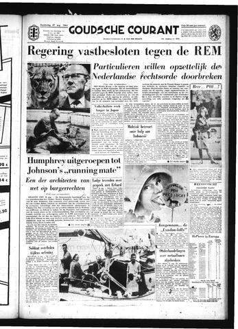 Goudsche Courant 1964-08-27