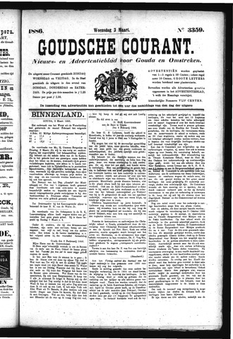 Goudsche Courant 1886-03-03