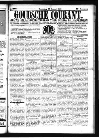 Goudsche Courant 1929-01-23