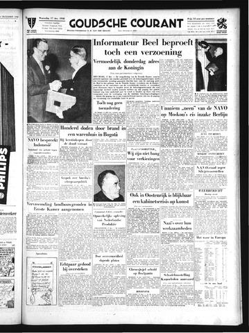 Goudsche Courant 1958-12-17