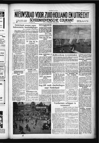 Schoonhovensche Courant 1957-07-22