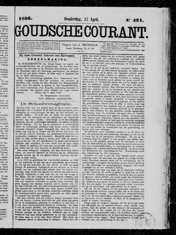 Goudsche Courant 1866-04-12