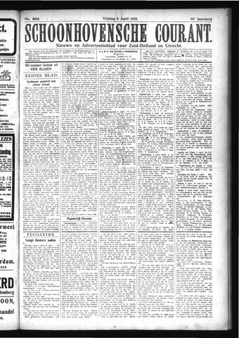 Schoonhovensche Courant 1923-04-06