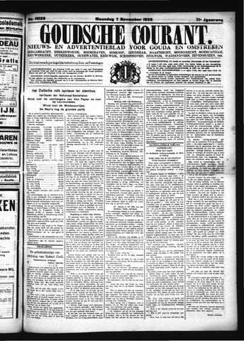 Goudsche Courant 1932-11-07