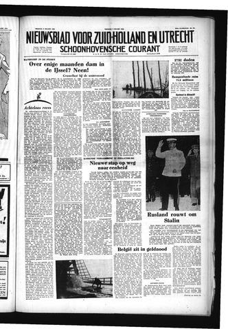 Schoonhovensche Courant 1953-03-06