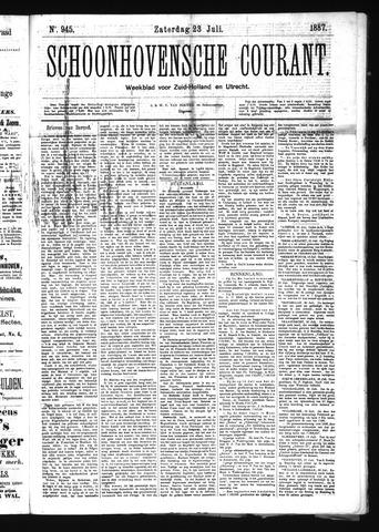 Schoonhovensche Courant 1887-07-23