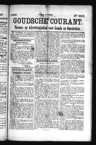 Goudsche Courant 1880-10-01