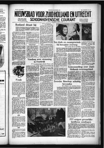 Schoonhovensche Courant 1953-12-23