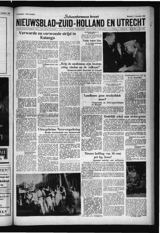 Schoonhovensche Courant 1961-12-11