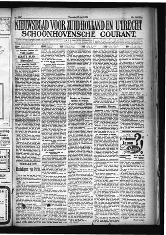 Schoonhovensche Courant 1929-04-19