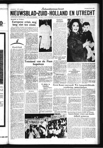 Schoonhovensche Courant 1963-05-29