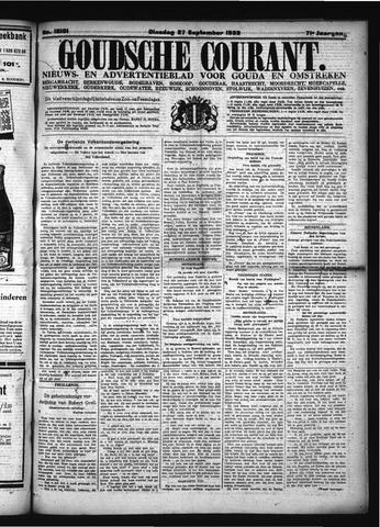 Goudsche Courant 1932-09-27