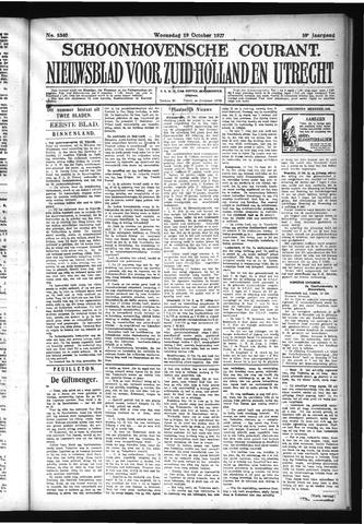 Schoonhovensche Courant 1927-10-19