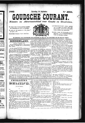 Goudsche Courant 1892-09-10