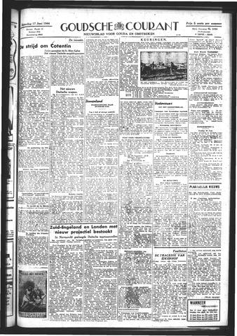 Goudsche Courant 1944-06-17