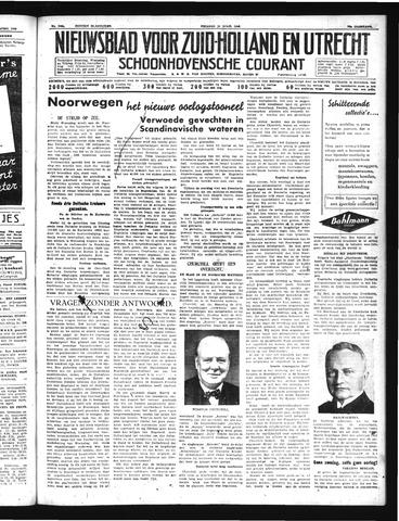 Schoonhovensche Courant 1940-04-12
