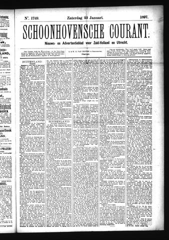 Schoonhovensche Courant 1897-01-23