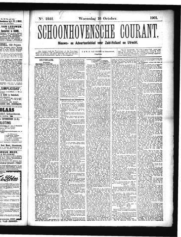 Schoonhovensche Courant 1901-10-16