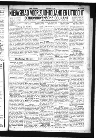 Schoonhovensche Courant 1934-07-16