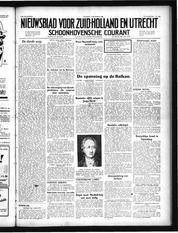 Schoonhovensche Courant 1949-09-05