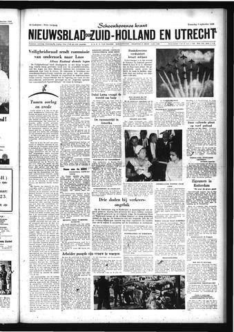 Schoonhovensche Courant 1959-09-09