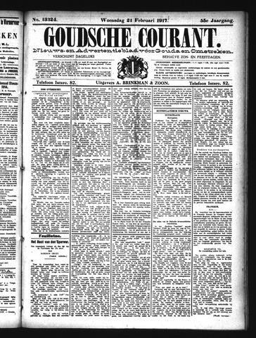 Goudsche Courant 1917-02-21