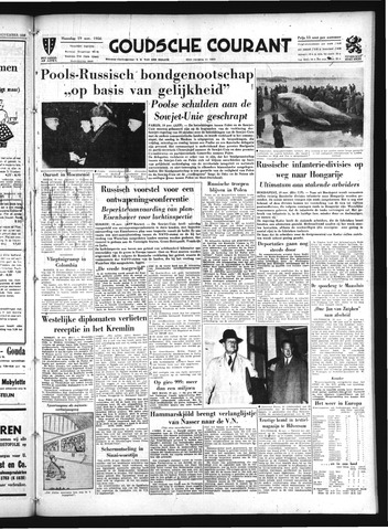 Goudsche Courant 1956-11-19