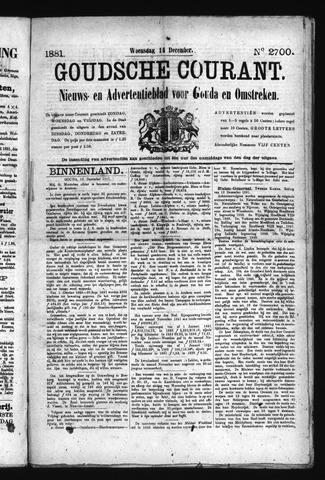 Goudsche Courant 1881-12-14