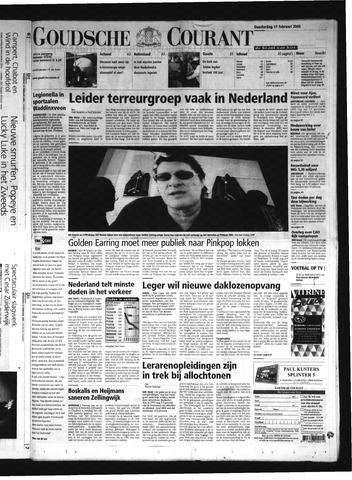 Goudsche Courant 2005-02-17