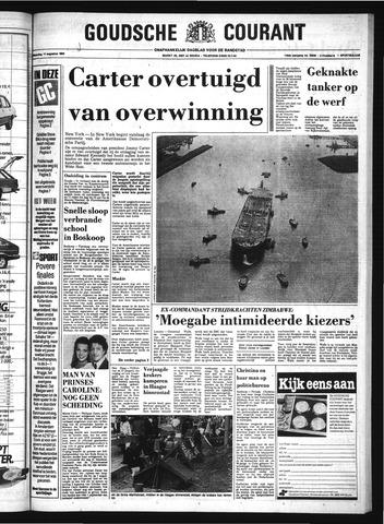 Goudsche Courant 1980-08-11