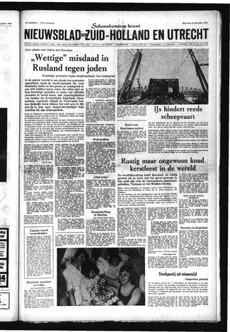 Schoonhovensche Courant 1970-12-28